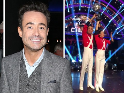Strictly champion Joe McFadden spotted for the first time since his glitterball win with Katya Jones