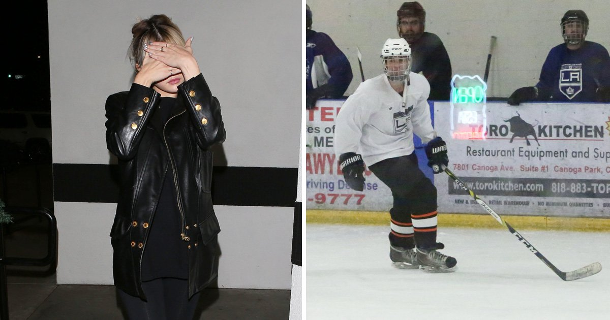 Selena Gomez turns up to Justin Bieber's hockey game to show her support