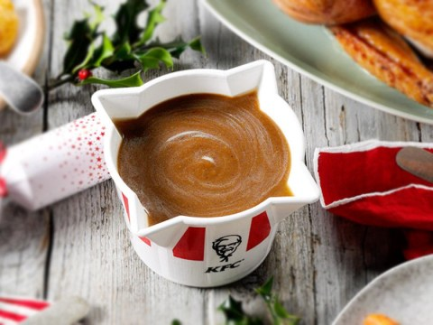 KFC launches a family sized bucket of gravy just in time for Christmas
