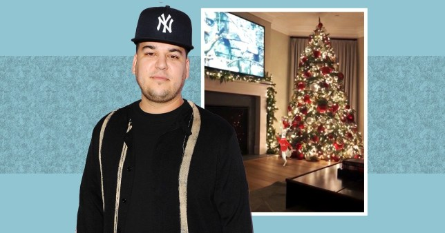 There Ll Be No Presents Under Rob Kardashian S Christmas Tree This