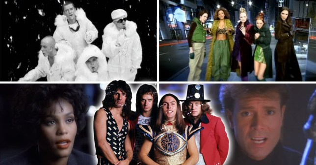 Every Christmas number 1 there's ever been since 1952 - including East 17, The Beatles, Spice Girls and Cliff Richard