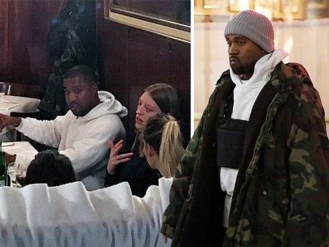 Yeezus Walks! Kanye West emerges in Milan just days before Christmas and new baby arrival