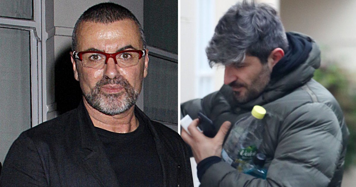 George Michael's partner Fadi Fawaz returns to home he shared with late star as the year anniversary of his death nears