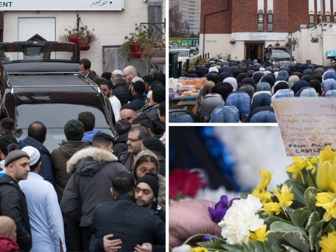 Funeral for taxi driver held yards away from horrific crash that left six dead