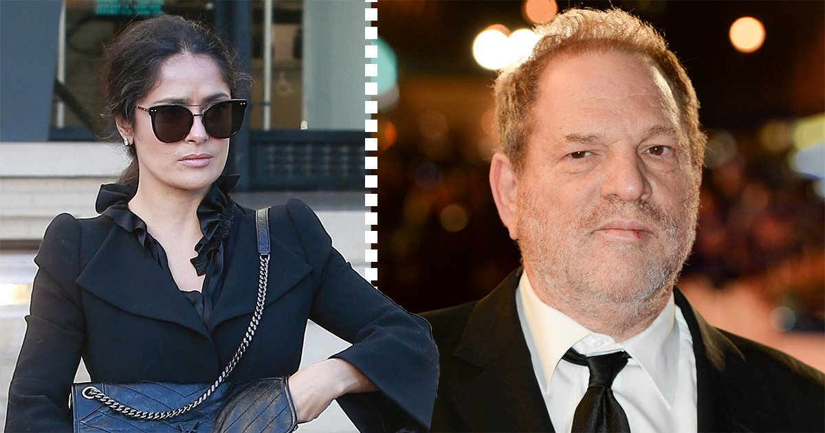 Salma Hayek spotted for first time since accusing Harvey Weinstein of 'coercing her into a sex scene with another woman'