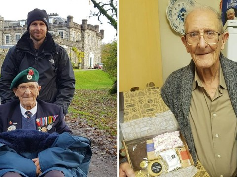 World War Two veteran, 93, inundated with Christmas cards after online appeal