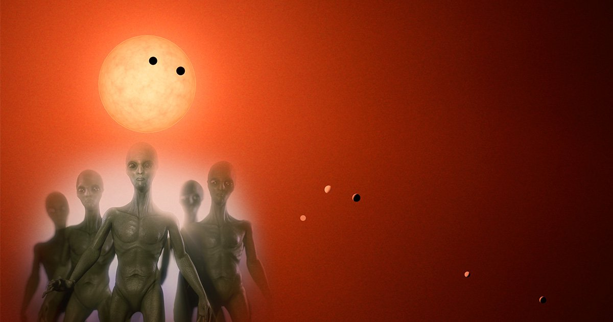 Nearby Trappist-1 star system is best place to find alien life, astronomers discover