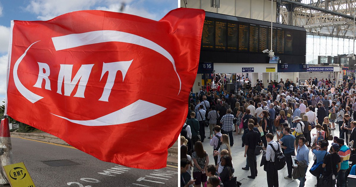 Thousands face transport chaos on New Year's Eve as train strike causes mass delays and cancellations
