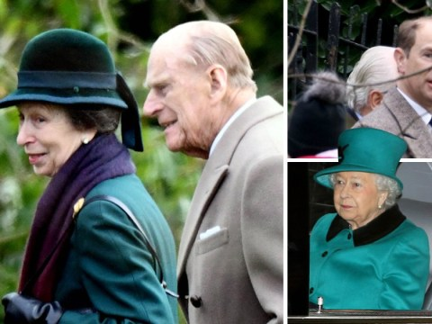 """Prince Philip 'asks """"is that a terrorist""""' while pointing at bearded man before New Year's service"""