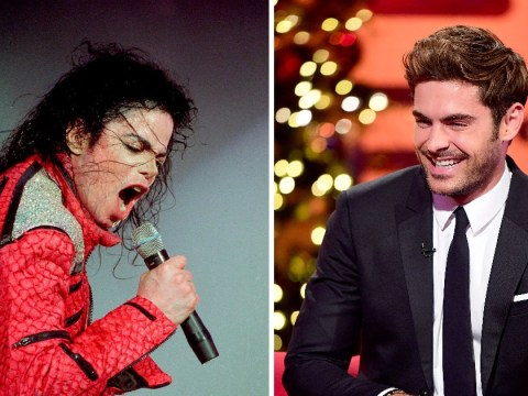 Zac Efron reveals that he once made Michael Jackson cry over the phone