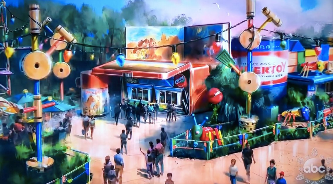 toy story land to open at disney world
