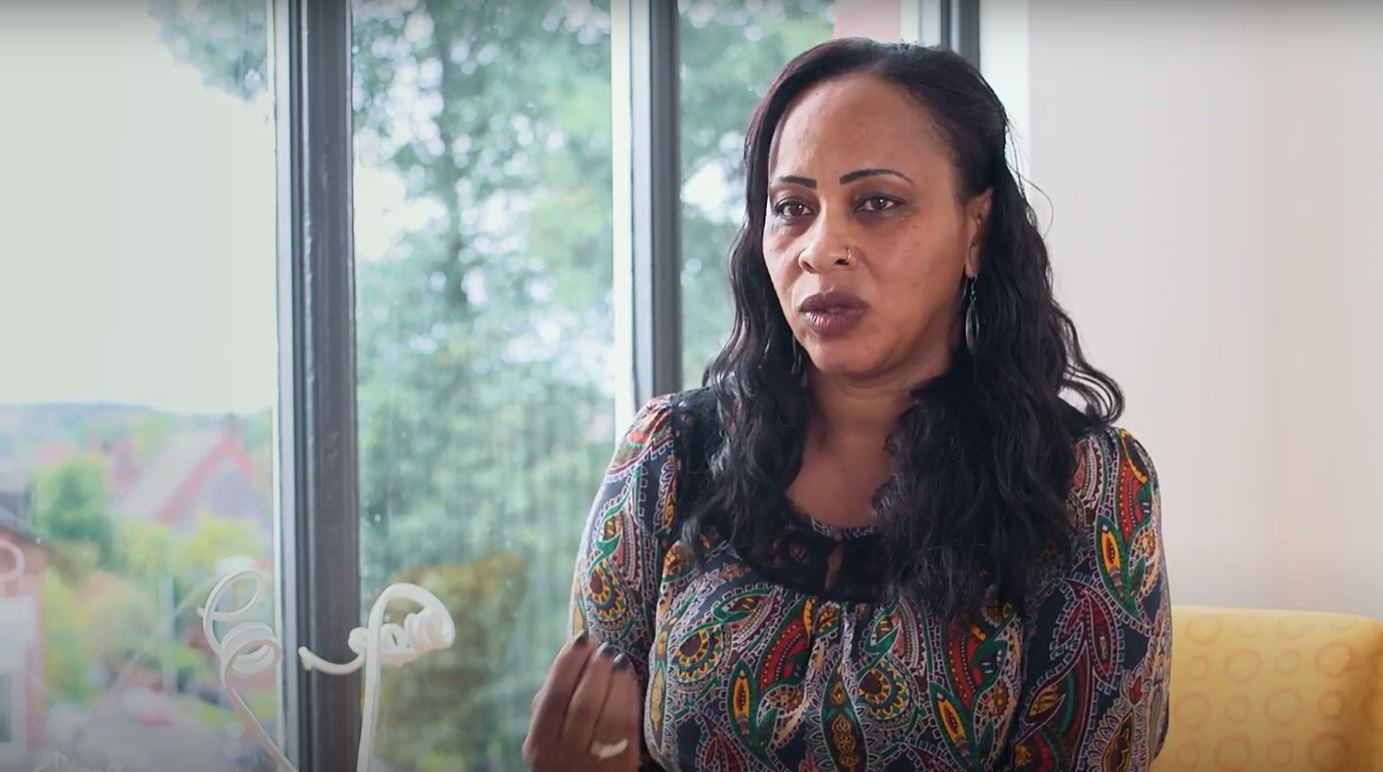Former lawyer who fled war to come to UK says language barrier 'tears families apart'