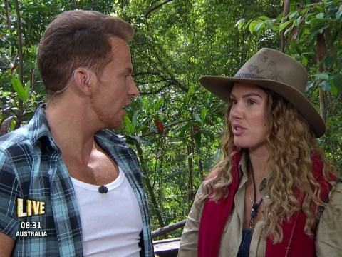 Becky Vardy 'to make formal complaint' about 'weasel' Joe Swash after I'm A Celebrity questioning