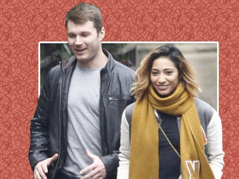 Karen Clifton is all smiles as she takes public walk with accountant Stuart Wood