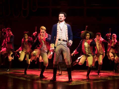 Hamilton gets standing ovation on London opening night as RADA newcomer shines in title role