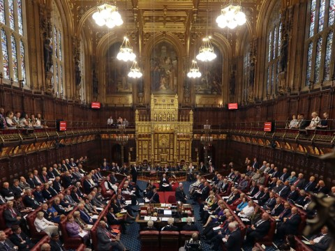 We're taking the government to the court of human rights because we're sick of the House of Lords' sexism
