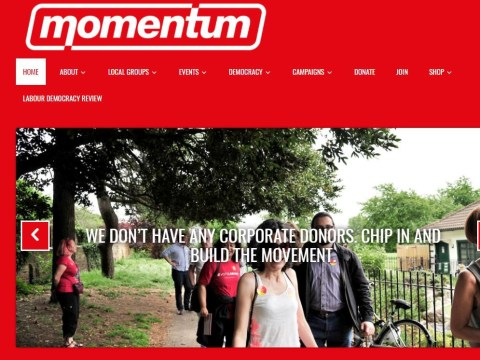 Momentum investigated for potential breach of campaign finance rules