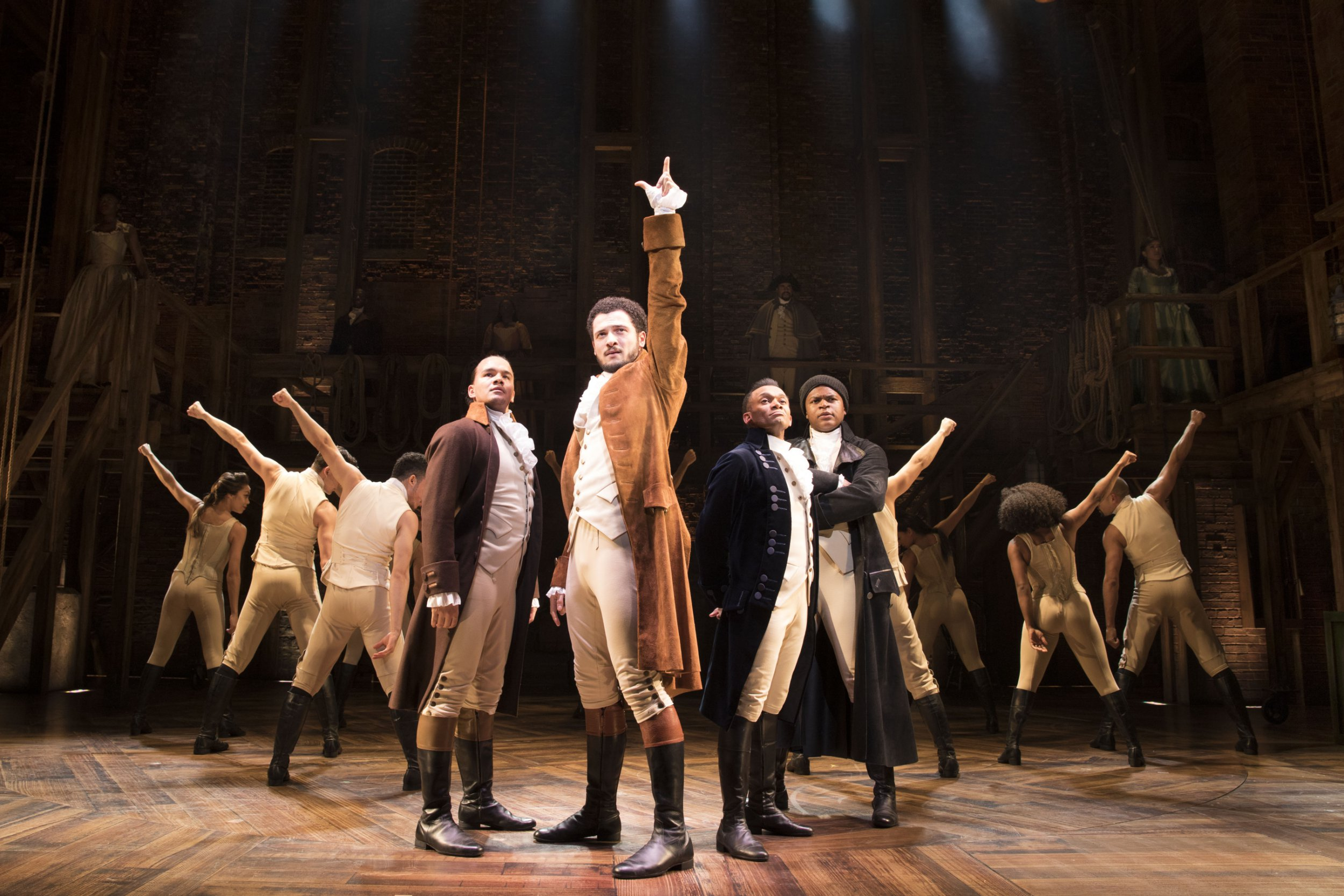 Hamilton smashes records as it scores 13 Olivier nominations
