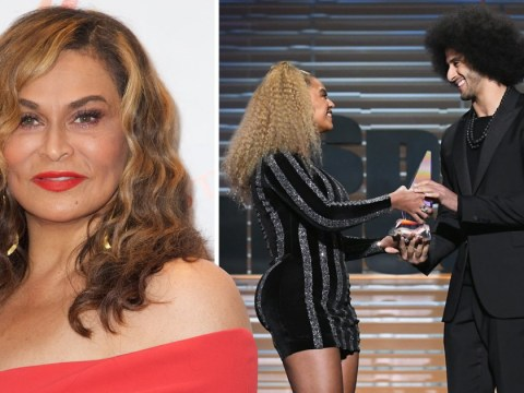 Tina Lawson defends daughter Beyonce as she's criticised for presenting Kaepernick award