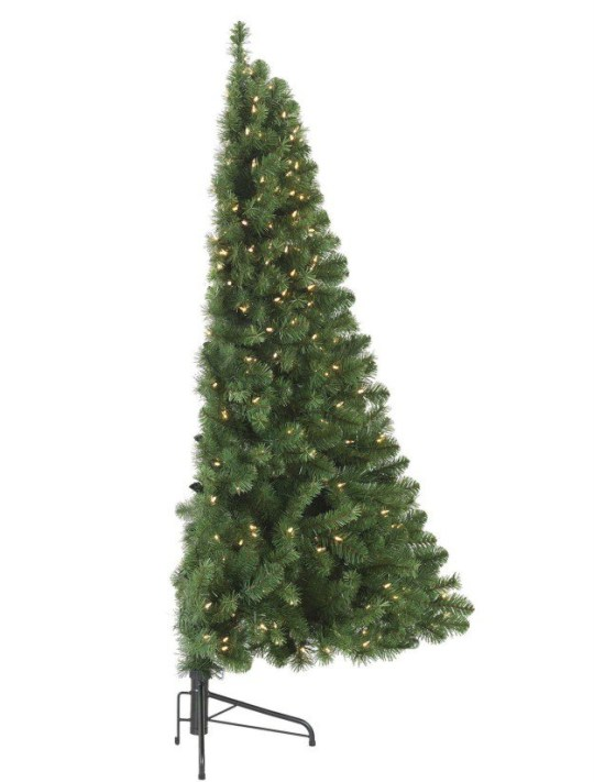 Half Christmas.You Can Now Buy Half A Christmas Tree If You Haven T Got