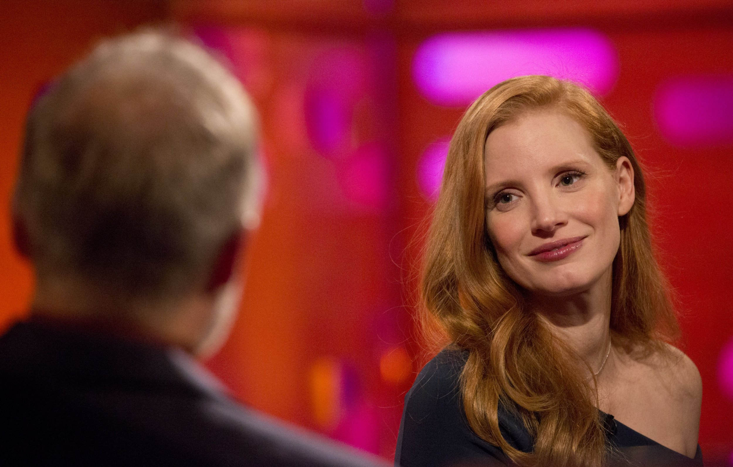 Jessica Chastain was told to 'calm down' after tweeting about the Weinstein scandal