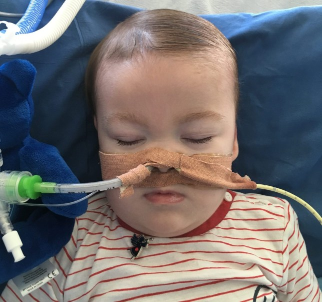 Parents are facing a legal battle to keep their baby son alive after a hospital applied to the High Court to switch off his life support