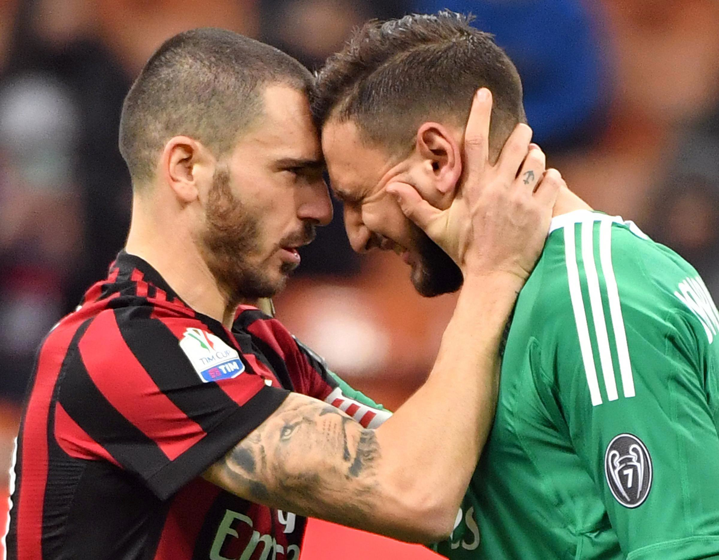 Gianluigi Donnarumma in tears after being insulted by AC Milan ultras