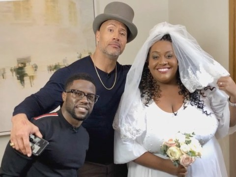 Alison Hammond 'married' Dwayne The Rock Johnson midway through an interview