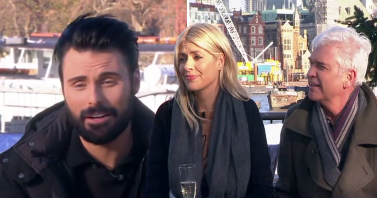 Rylan Clark is taking a break from This Morning and fans are devastated