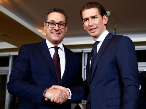 Far right party takes key posts in new Austrian government