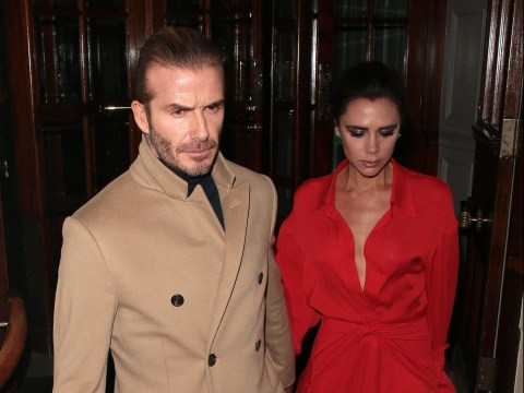 Where do the Beckhams live in London and the English countryside?