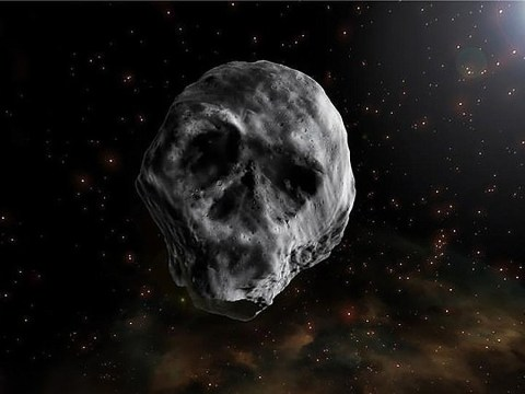 Eerie skull-shaped 'Halloween Death Asteroid' will return to Earth next year