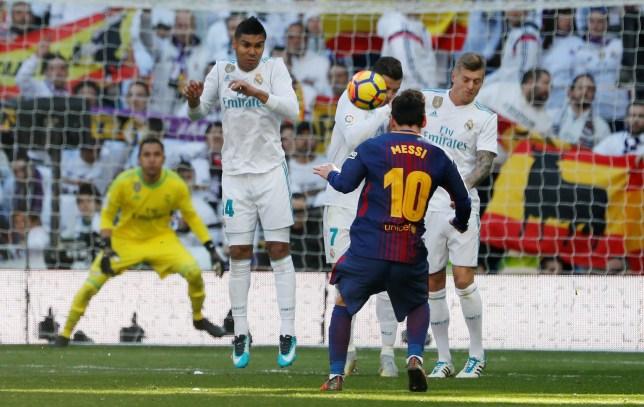Real Madrid v Barcelona: Cristiano Ronaldo smashed in the ...