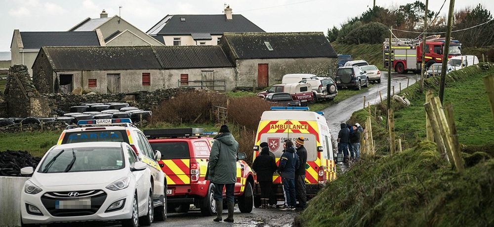 Two men die after jeep is swept away in Christmas Day tragedy
