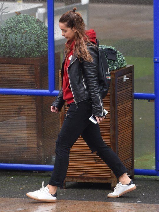 Louise Redknapp Pictured Still Wearing Wedding Ring After