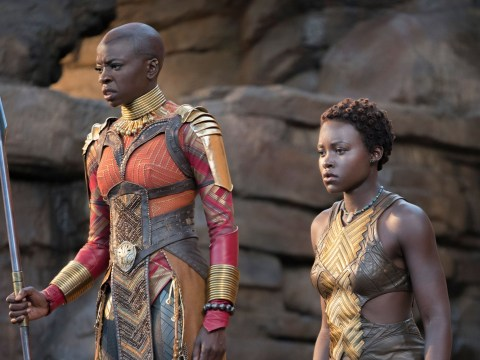 Black Panther's Lupita Nyong'o and Dania Gurira show the power of the Dora Milaje in new image