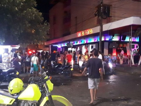 At least 31 injured in nightclub explosion in Colombia