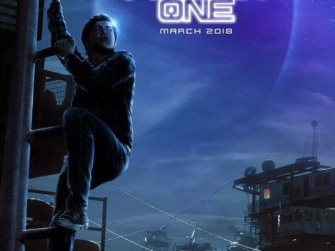 Tye Sheridan's super long leg in new Ready Player One poster is seriously freaking people out