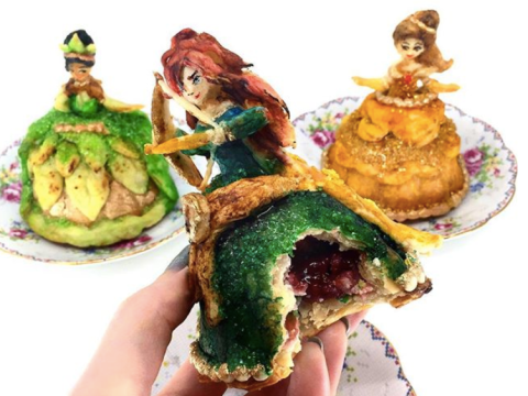 Disney princesses are being turned into pies and they look too good to eat