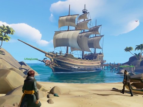 Sea Of Thieves blows Ni No Kuni II out of the water in UK sales charts