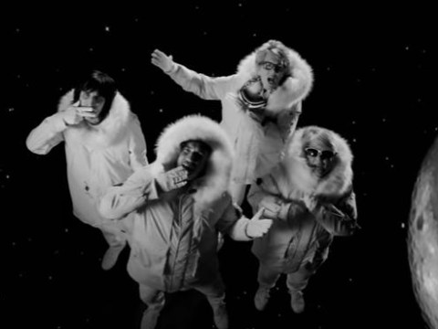 The Great British Bake Off team have recreated East 17's Stay Another Day, complete with furry parkas