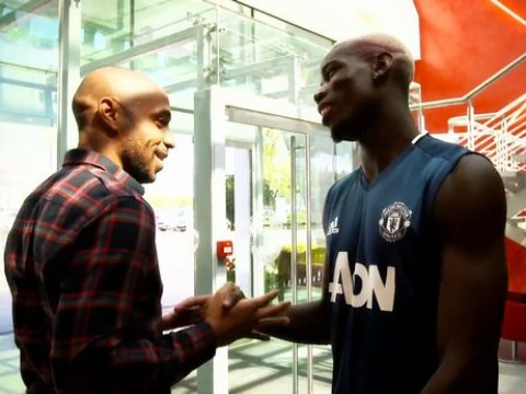 Did Thierry Henry go home with Paul Pogba's shirt after Manchester United's defeat of Arsenal?