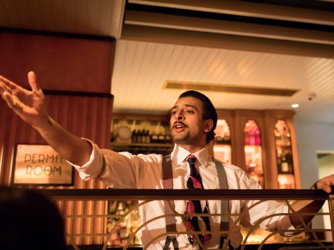 Night At The Bombay Roxy, Dishoom London: Delicious food but the theatre felt hard to invest in