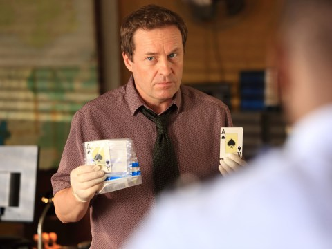 Ardal O'Hanlon investigates a poker murder in new Death In Paradise clip