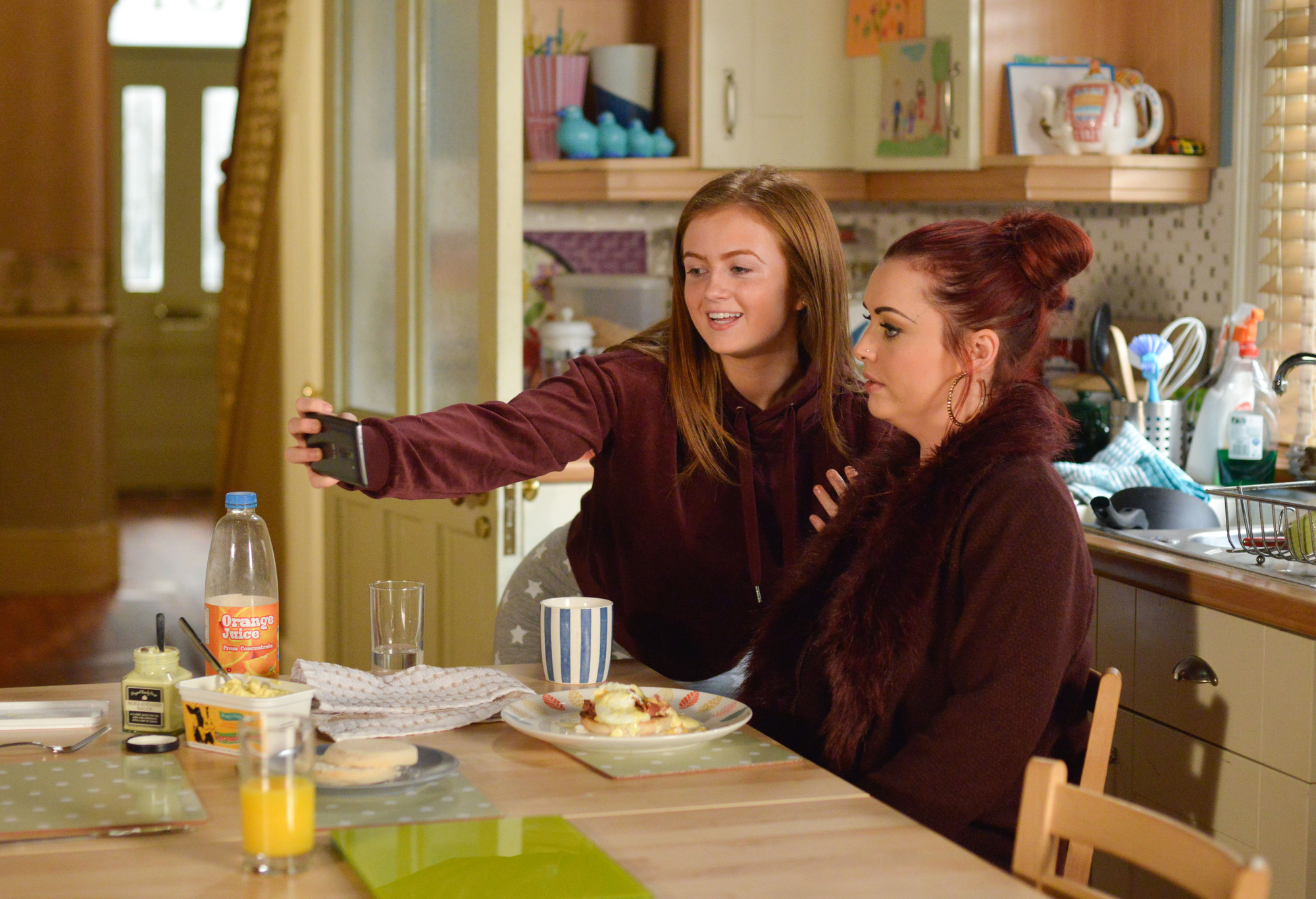 Tiffany makes herself at home in EastEnders