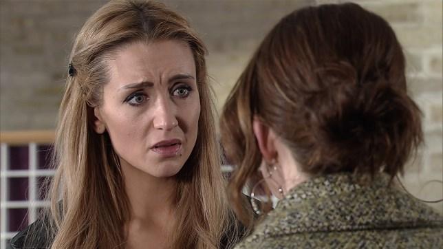 Eva is shocked by Toyah's idea in Coronation Street