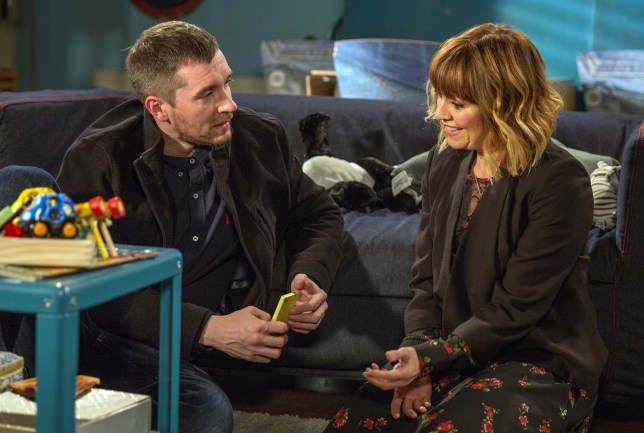 There's heartbreak in store for Rhona and Pete