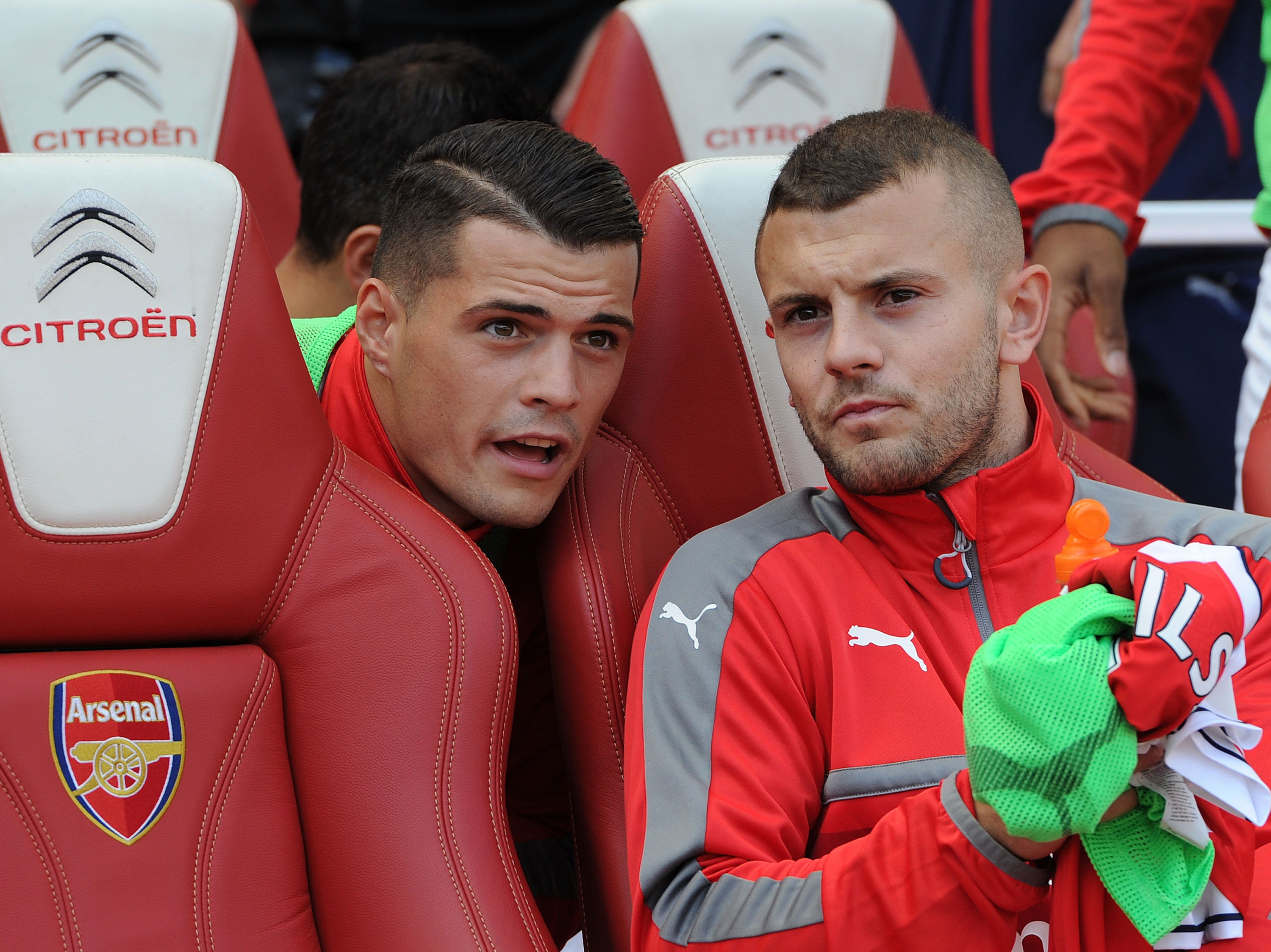 Jack Wilshere's Arsenal midfield partnership with Granit Xhaka is flawed, says Emmanuel Petit