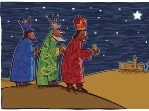 Who were the Three Kings celebrated at Epiphany?