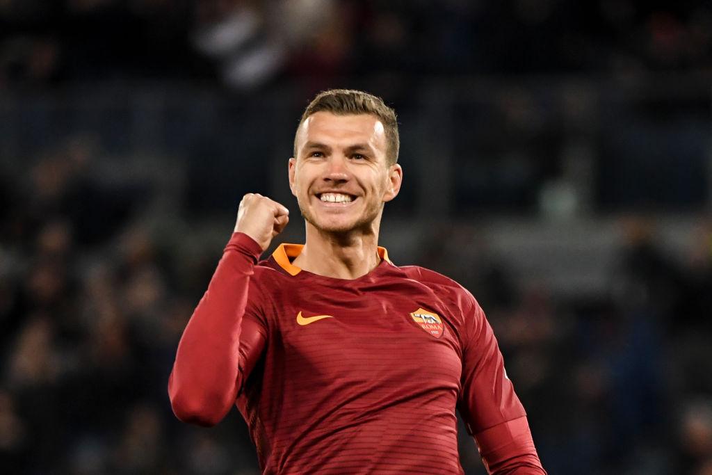 Chelsea hope to complete £29m Edin Dzeko transfer on Thursday as talks progress with Roma